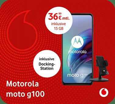 Vodafone – Motorola moto g100